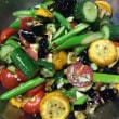 たっぷり夏野菜のサラダ