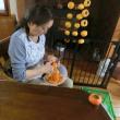 山仲間で芋煮会・干し柿 11月12日