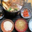 すき焼風、焼き肉鍋・・・炊屋食堂の気ままな鍋 !