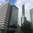 さいたま市中央区新都心にて「わ~ぁ、高い!」