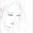 鉛筆画 ラフ2