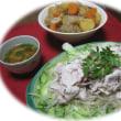2番花♫レ・ルンデル・・・豚肉の冷しゃぶサラダ。