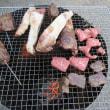 豚の餌箱で作った焼き肉コンロ