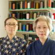 小京都 岡山県真庭市勝山探訪、本物の暖簾は割れている!