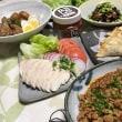 晩ご飯☆鶏手羽元のさっぱり煮&甘辛肉味噌☆