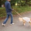 Kさんと散歩