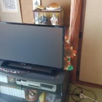 液晶テレビを納品しました。