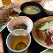 二人飯 ・たたき定食&安兵衛餃子㏌ ひろめ市場