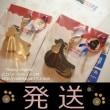 SOLD OUT & 発送 耳付きフルコート型コッカーキーホルダー 犬雑貨