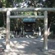 淡路島・伊弉諾神宮 「 伊勢皇大神宮遥拝所 から頭髪感謝碑と・・・」