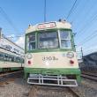 遂に荒手車庫訪問です♪ 広島電鉄3100形