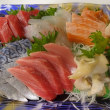 寿都「真そい」のお造り!素材の美味しさにこだわって手作り「鮭とば」!!刺身と手作り干物の専門店「発寒かねしげ鮮魚店」。
