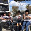 マルシェ「みなまきピクニック」で牛乳パックのホイッスル・ペーパービーズのブレスレットづくりをレクチャー