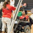 """""""電動車椅子サッカーの""""有田選手、ボッチャの日本選手権で3位に!"""