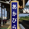 赤平駅(T23):駅裏にズリ山がある駅