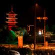 赤米と五重塔 No.2