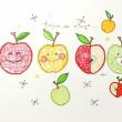冬のリンゴ