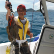 8月23日 初めて、釣りました。