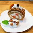 柿の生ケーキ