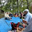 キノコ観察会とキノコ鍋