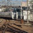 2017年8月23日,今朝の中央線 成田エクスプレス7号 E259系