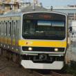 2017年8月23日 総武線  平井 E231系B10編成