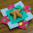 サポート会員のためのサロン「折り紙でこまを作ろう」