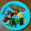 今日の朝食(5月20日)タラのフライ
