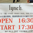 lynch. 8/11 TOUR'17「THE SINNER STRIKES BACK」at 日比谷野外大音楽堂
