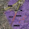 グータ化学攻撃 検証:ロケットの発射地点