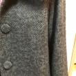 ヘリンボーンツイードジャケットコート