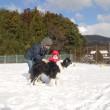 ☆ボーダー☆ 雪遊び