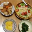 今朝の山賊食堂(12月16日)宗八ガレイの干物にニラ入り卵焼き