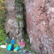 赤岩青巌峡 何にも無かった、、。