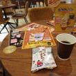 人気スポット北のチョコレート工場2doorでオススメの100円コーヒーと割りしみチョコせんべいです。