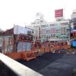シモキタ再開発  03/2018:  北口旧闇市の八百屋さん、ついに撤去完了