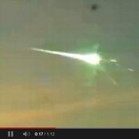 ロシア隕石に見え隠れする、UFO、宇宙人、被害を抑えるために破壊した?