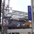 小田急線複々線化アップデート  2017年11月初: 次第に進む駅舎建設