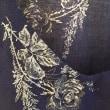綿ローンで V襟のオーバーブラウス