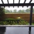 雨の日は湯治に専念