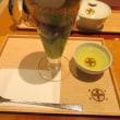 中村藤吉本店 銀座店で『まるとパフェ(抹茶)』
