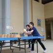 水曜日は、篠山発祥のニュースポーツ桶ット卓球の日です。