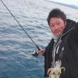 アオリイカ釣り出船中