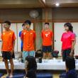 今年も、拓殖大学陸上競技部が阿蘇で合宿を行っています(H29)