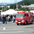 辰野町消防団ポンプ操法・ラッパ吹奏大会