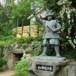 大阪城を南から攻める