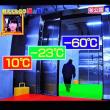 3/21 豊洲 冷凍庫の温度の種類 60度は