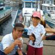 夏休みプランでマアジ釣りです。