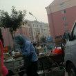 中国遼寧省 葫芦島市内での早朝散歩 朝市 5