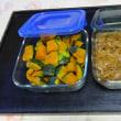 冷蔵庫や冷凍庫を整理しながら、常備菜作りを楽しみました。